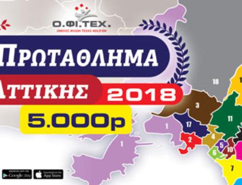 Πρωτάθλημα Αττικής 2018 App