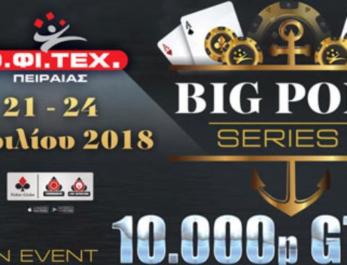 Big Port Series II – 10.000p GTD