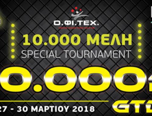 10.000 Members Special Event – 10K GTD!!!