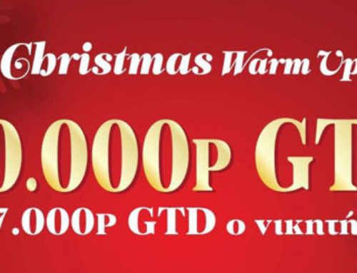 Christmas Warm up – 20.000p GTD!!!