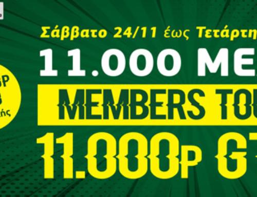 11.000 Members Tour – 11.000p GTD!!!