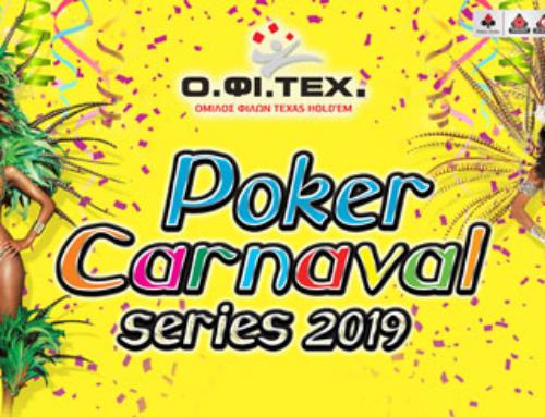 Poker Carnaval Series 2019