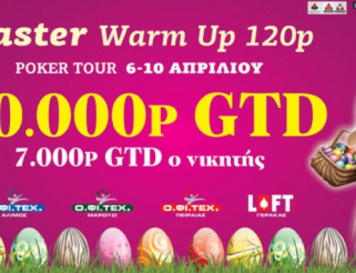 Easter Warm Up 20.000p GTD